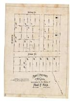 Abel F. Rice 1892, Allston 1890c Survey Plans